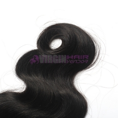8-18 Inch Top Gade 4x4 inch Lace Closure Body Wave Free part & Middle part three part on full stock