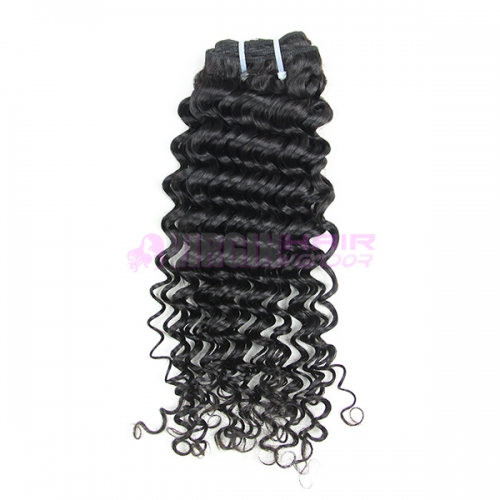 Good grade 8-30 inch Unprocessed Deep Wave Malaysian Hair Bundles