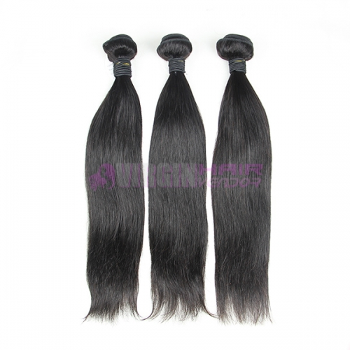 Good grade 8-30 inch Malaysian hair Natural straight hair