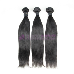 Good grade 8-30 inch peruvian virgin human hair no shedding no tangling natural straight