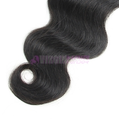 Goog grade Can Be Dyed Tangle Free Natural Color brazilian body wave human hair weave
