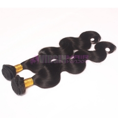 Super grade 8-30inch Factory sale perfect black lady 100% human remy hair