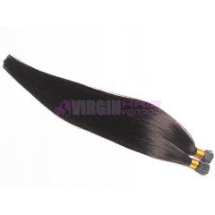 100% remy virgin russian hair i tip hair extensions