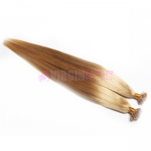 Good quality 100% cheap keratin u tip human hair extension