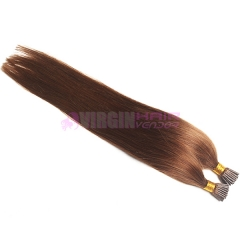 Cheap i tip 100% virgin indian remy hair extensions