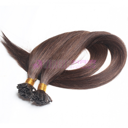 black elegant hair natural indian hair remy u tip keratin human hair extension