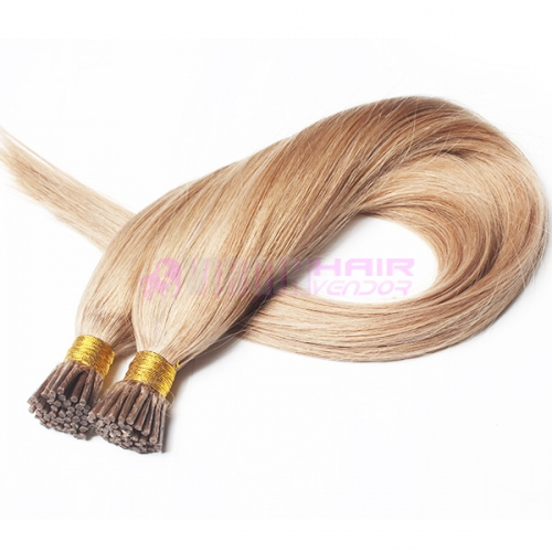 wholesale silky straight virgin remy 100 keratin i tip human hair extension