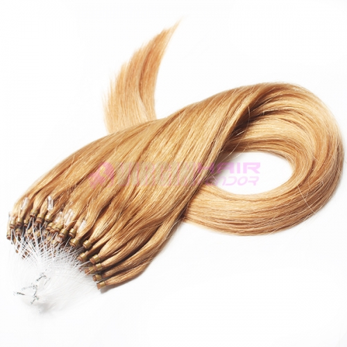 Factory price hot selling natual straight micro loop hair extension