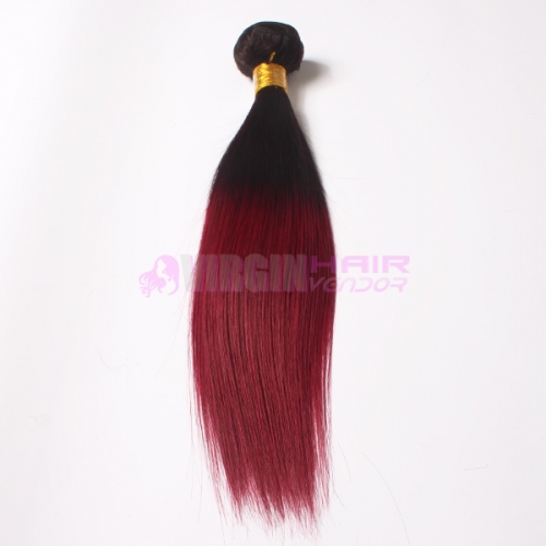 Unprocessed Hair Malaysian Virgin Hair Ombre Hair Extensions Straight Omber Hair Weave
