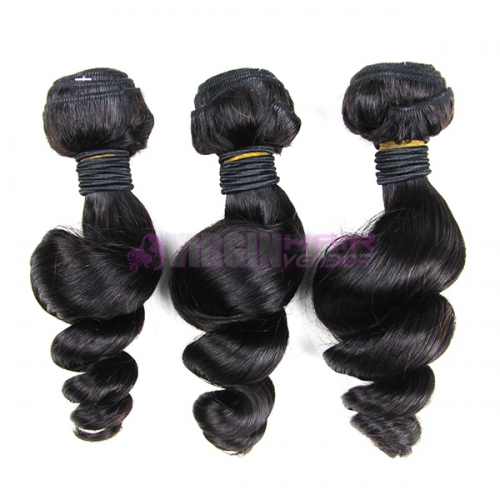 Good grade 8-30 inch loose  wave Malaysian human hair extension
