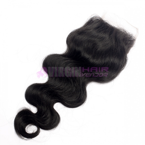 Best Price Super Quality Virgin Brazilian Hair Lace Closure 4*4