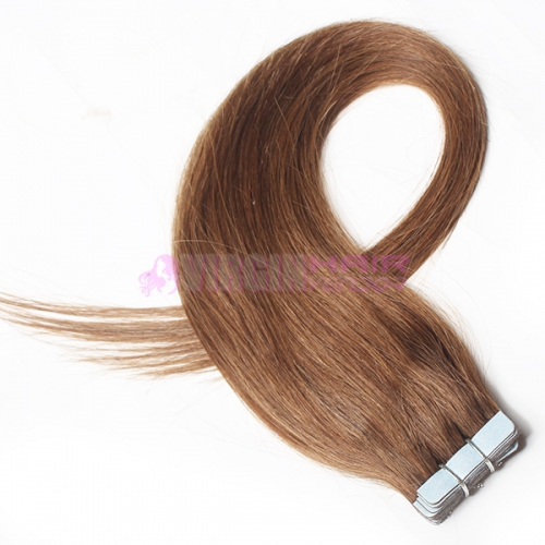 Factory wholesale 100% Indian skin weft extension 18-24inch in stock