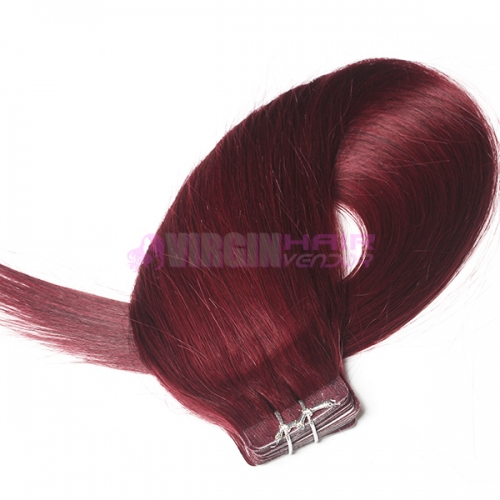 Wholesale Remy skin weft hair tape on hair extension