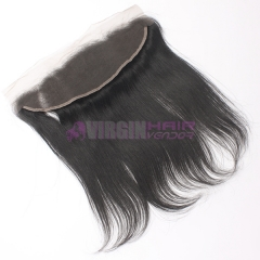 Super grade frontal lace closure 13*4 natural straight on selling