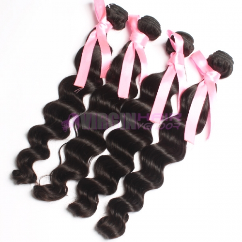 Best selling Peruvian Human Hair Weave natural wavy natural hair extension