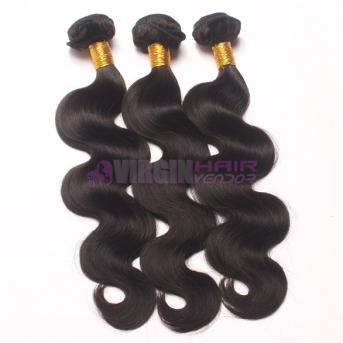 Super grade 100% body wavy wholesale virgin Malaysian hair