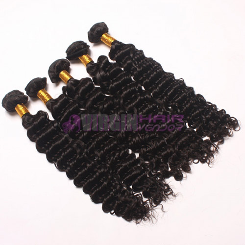 Super grade 8-30inch virgin Deep wave cheap malaysian virgin hair bulk