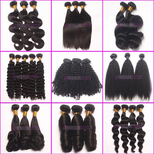 Super grade 8-30inch 100% virgin malaysian hair in stock factory supplier