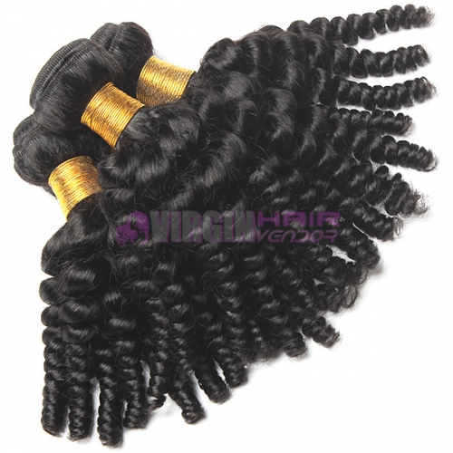 Normal grade 100% Human Hair Funmi wave Black color