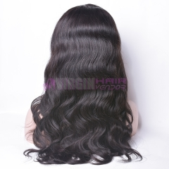 360 wig body wave,150% destiny  Top Sale 100 % human hair body wave natural color