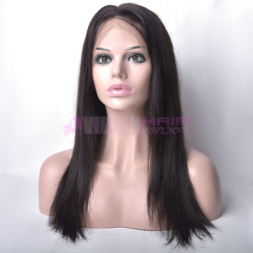 straight,150% destiny New fashion free part human hair full lace wig for sale straight texture natural color
