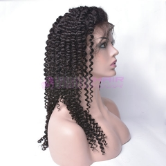 curly,150% 100% Human hair extension wigs curly lace front wigs