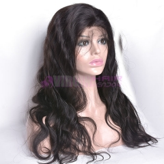 Body Wave,150% Different styles 100 percent virgin brazilian human hair lace frontal wig