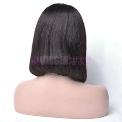 Bob,150% Density Short Bob Wigs For Black Women Brazilian  100% Lace Front Human Hair Wigs