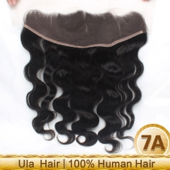 Ula Hair Brazilian Lace Frontal Body Wave Closure Virign Hair Body Wave Human Hair