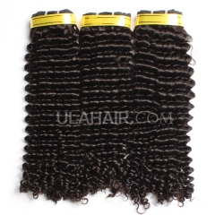 Ula Hair 13A Grade Malaysian Virgin Hair Deep Curly 3Bundles/Lot Malaysian hair Curly Deep Hair Extension