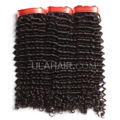 Ula Hair 13A Grade Peruvian Virgin Hair Deep Curly 3Bundles/Lot Peruvian hair Curly Deep Hair Extension