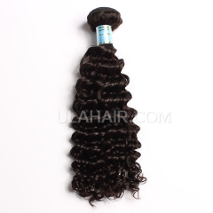 Ula Hair Peruvian Deep Wave curly Virgin Hair 13A Grade High Quality Human Hair Peruvian Virgin Hair Extension