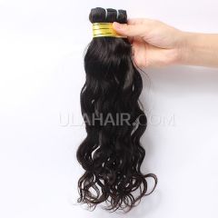 Ula Hair Malaysian Virgin Hair Natural Wave Unprocessed Water Wave Human Hair No Shedding No Tangle Malaysian Virgin Hair Retail