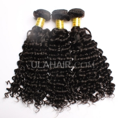 Ula Hair Malaysian Virgin Hair Deep Wave 7A Grade Malaysian Deep Wave Human Hair Extensions 3 Bundles Lot