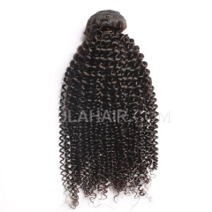 Ula Hair 7A Grade Brazilian Virgin Hair Kinky Curly Human Hair Extensions Brazilian Kinky Curly Virgin Hair Retail 1 Pc