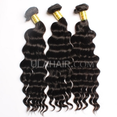 Ula Hair 7A Grade Wavy hair 3Bundles/lot Malaysian Virgin hair More Wave Top Quality Human Hair Extensions