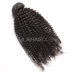 Ula Hair 7A Malaysian Virgin Hair Kinky Curly High Quality Human Hair Extensions Malaysian Kinky Curly Virgin Hair Retail 1 Pc