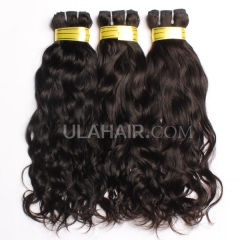 Ula Hair 3Pcs/Lot Natural Wave Malaysian Virgin Hair 7A Top Quality Human Hair Unprocessed No Shedding No Tangle