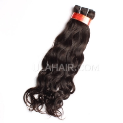 Ula Hair Brazilian Hair Natural Wave Virgin Hair Fashion Lady 7A Grade Aliexpress Top Quality Human Remy Hair Wavy 1Pc