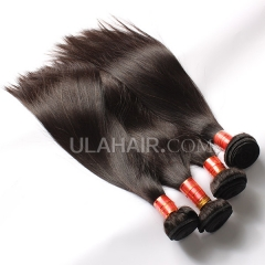 Ula hair 7A 4pcs/lot brazilian virgin hair Straight mixed inches virgin hair soft straight brazilian human hair extensions