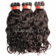 Ula Hair 7A 3Pcs/Lot Virgin Hair Brazilian Natural Wave Human Hair No Tangle No Shedding Brazilian Hair