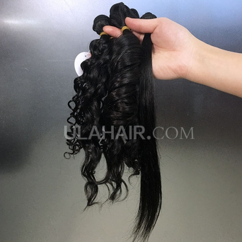 13A Sample Bundles 5 Pcs 14 inch Combination Bundles 100g/lot Deal