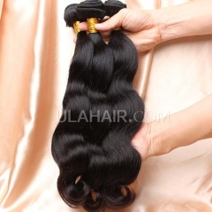 【8A 3PCS】Ula Hair New 8A 3 Bundles Brazilian Virgin Hair Body Wave