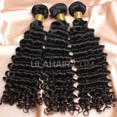 【14A 3PCS】3 Bundles Deal Brazilian Virgin Hair Deep Wave Wavy