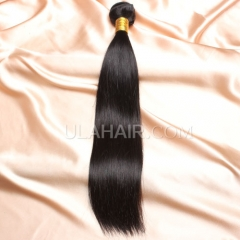 【14A 1PCS】 1pc Grade Peruvian Virgin Ula Hair 14A 1pc Grade Peruvian Virgin Hair Straight Human Hair Extensions  Straight Virgin Hair