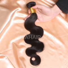 【8A 1PCS】Ula Hair 8A 1pc Grade Brazilian Virgin Ula Hair 8A 1pc Grade Peruvian Virgin Hair Body Wave Human Hair Extensions  Body Wave Virgin Hair