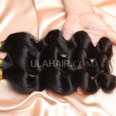【14A 3PCS】 3 Bundles Deal Peruvian Virgin Hair Loose Wave 100% Human Hair