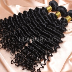 【14A 3PCS】 3 Bundles Deal Peruvian Virgin Hair Deep Wave Wavy