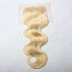 【Lace Closure】Ula Hair 13A Human Hair Lace Closure  613* Body Wave Lace Closure Brazilian Virgin Hair Retail 1Pc