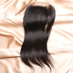 8A Ula Hair Malaysian Straight Lace Closure Virgin Human Hair Lace Closure Lace Closure Straight Virgin Hair Lace Closure Retail 1Pc